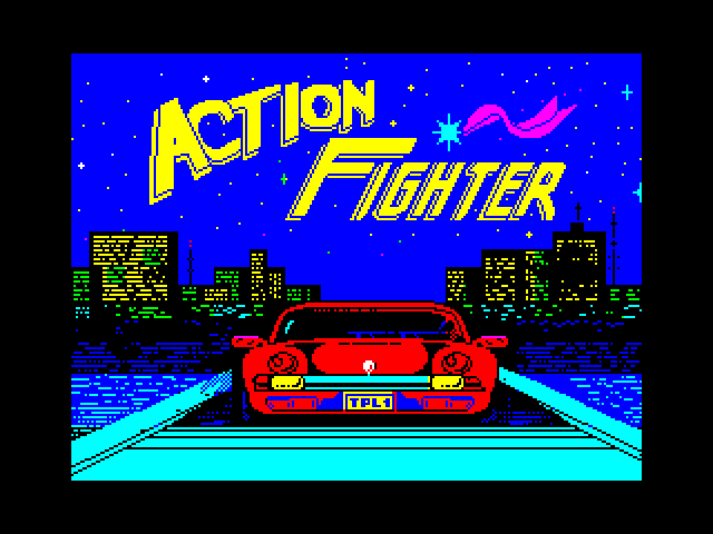 Action Fighter screenshot