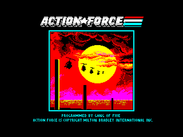 Action Force screen