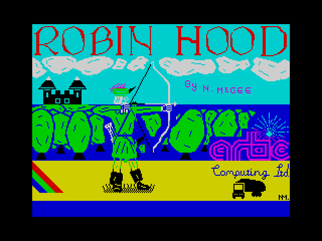 Adventure H: Robin Hood loading screen