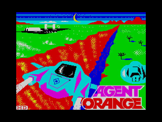 Agent Orange loading screen