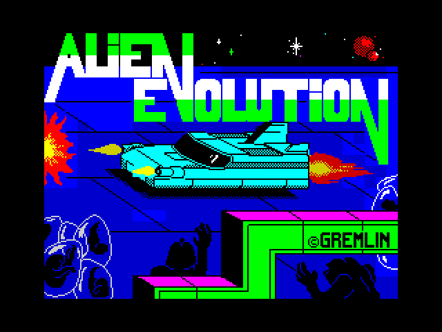 Alien Evolution screen
