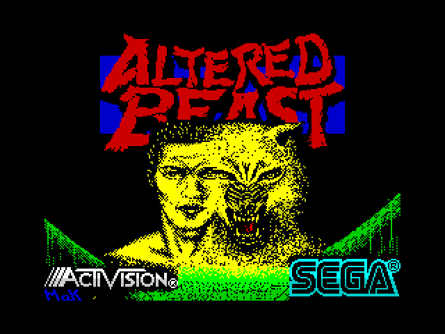 Altered Beast screen