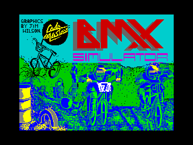 BMX Simulator screenshot