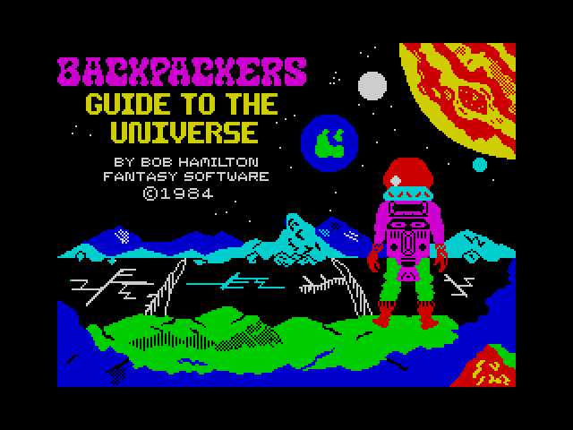 Backpackers Guide to the Universe screenshot