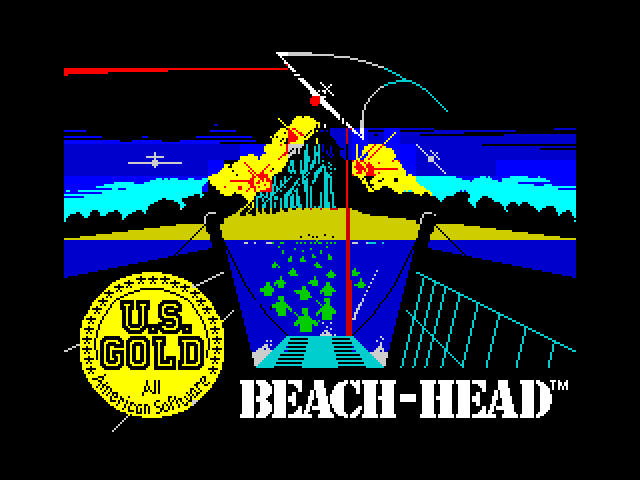Beach-Head loading screen