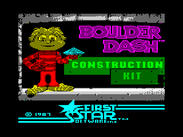 Boulder Dash Construction Kit screenshot