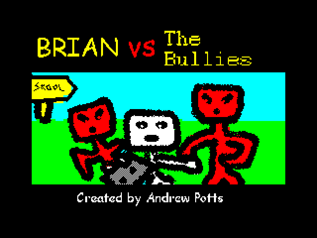 Brian vs. the Bullies loading screen