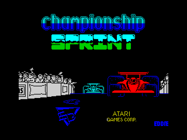 Championship Sprint screenshot