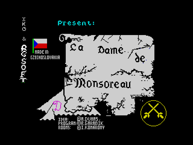 La Dame de Monsoreau screenshot