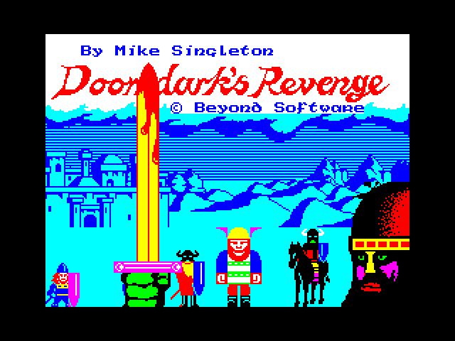 Doomdark's Revenge screenshot