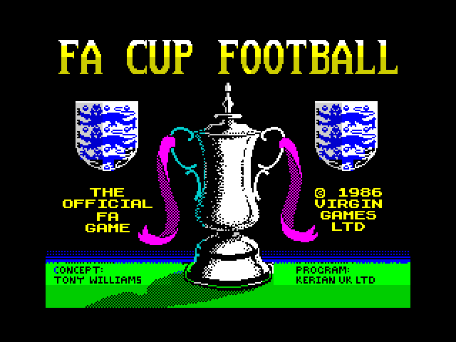 F.A. Cup Football screen