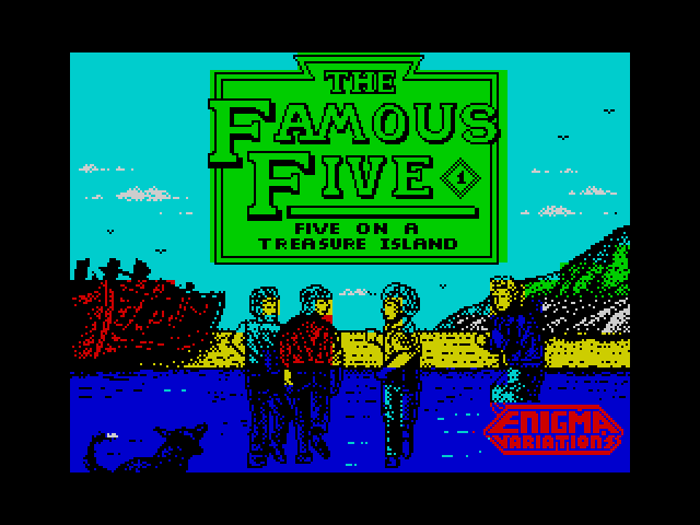 The Famous Five 1 loading screen