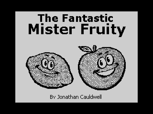 The Fantastic Mister Fruity loading screen