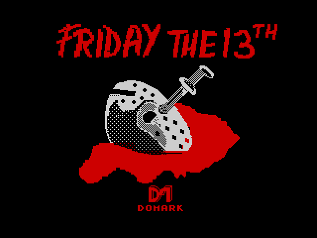 Friday the 13th screen