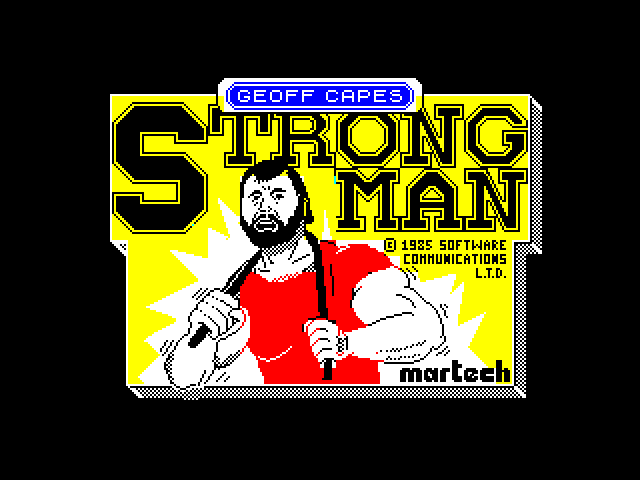 Geoff Capes Strong Man loading screen