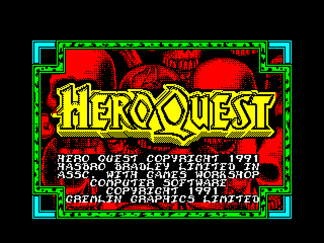 Hero Quest screenshot