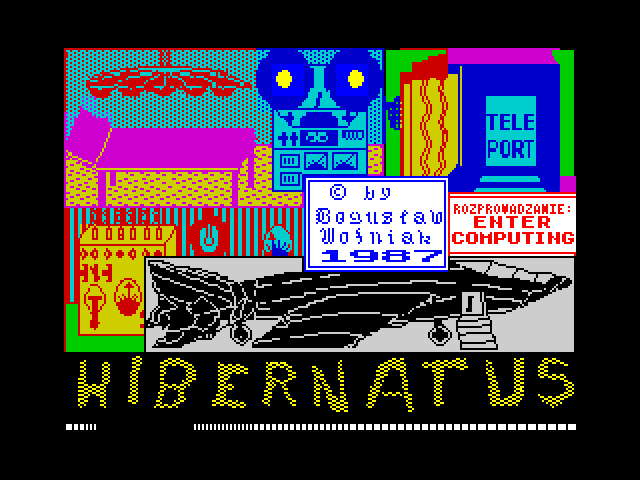 Hibernatus loading screen