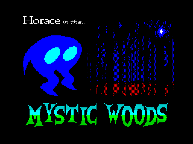 Horace in the Mystic Woods screen