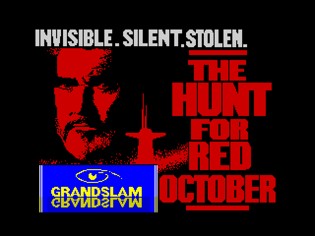 The Hunt for Red October - Based on the Movie loading screen