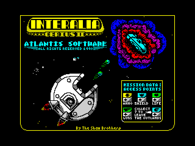 Interalia screenshot