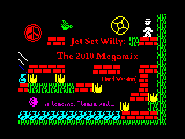 Jet Set Willy: The 2010 Megamix screenshot