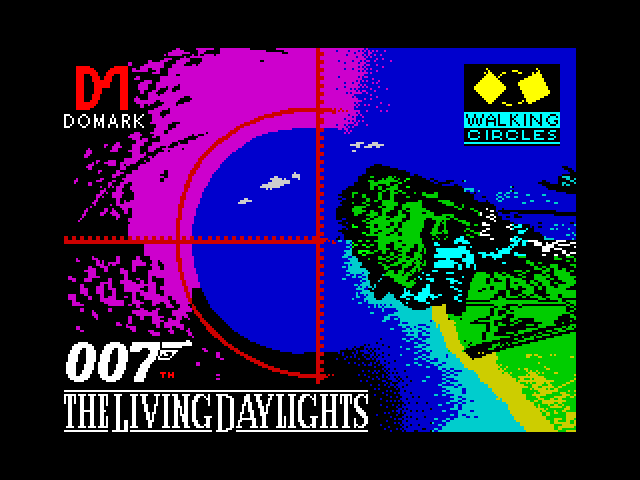 The Living Daylights - The Computer Game screenshot