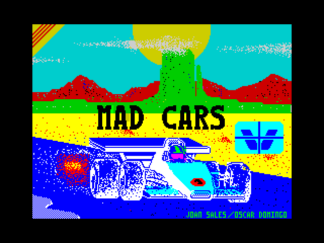 Mad Cars loading screen