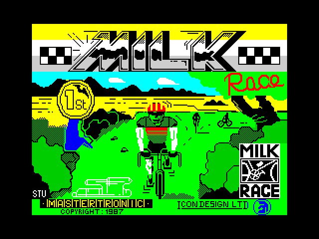 Milk Race loading screen
