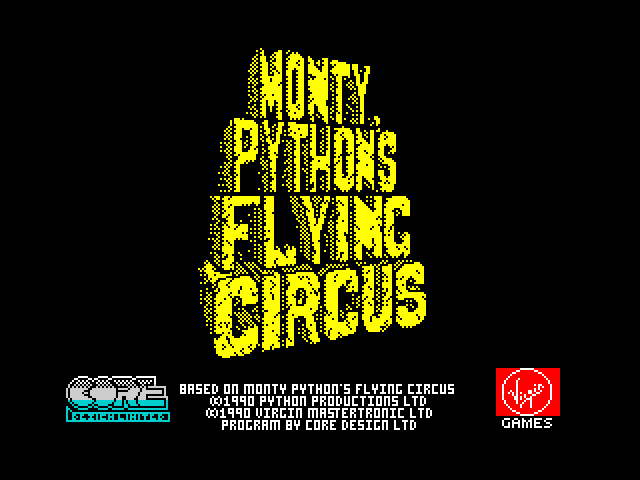 Monty Python's Flying Circus loading screen