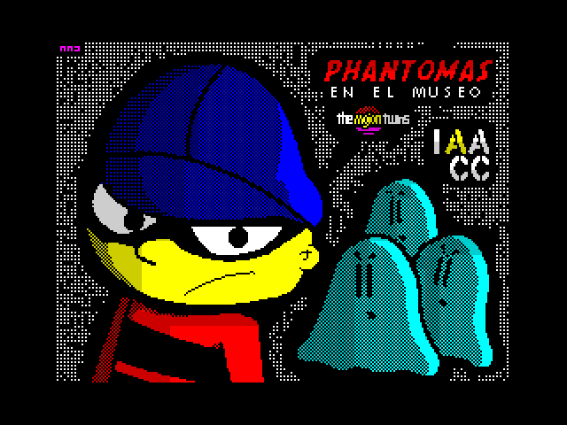 Phantomas en el Museo screenshot