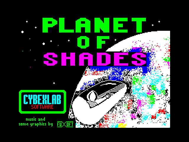 Planet of Shades loading screen