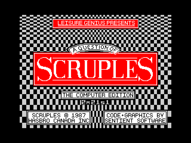 A Question of Scruples screen