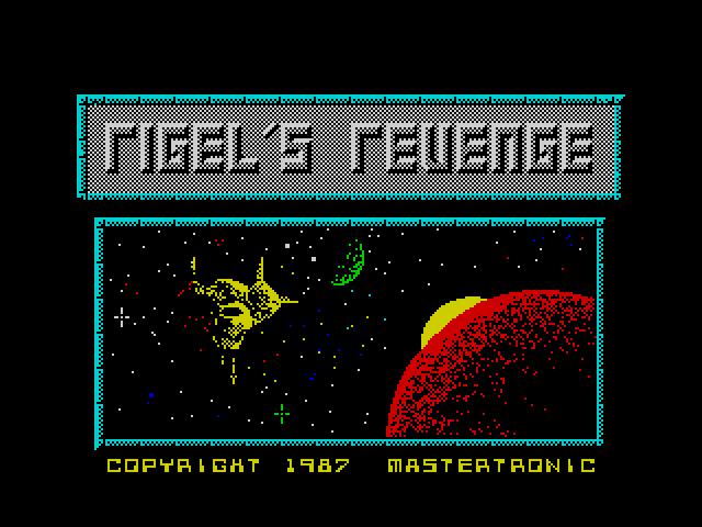 Rigel's Revenge screenshot