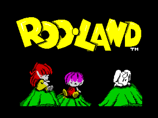 Rod-Land loading screen