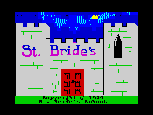 The Secret of St. Brides loading screen