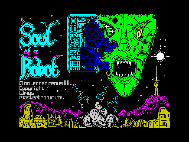 Soul of a Robot screenshot