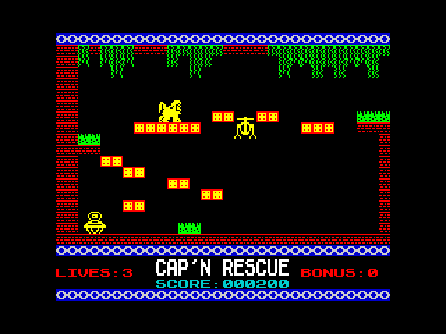 Cap'n Rescue screen