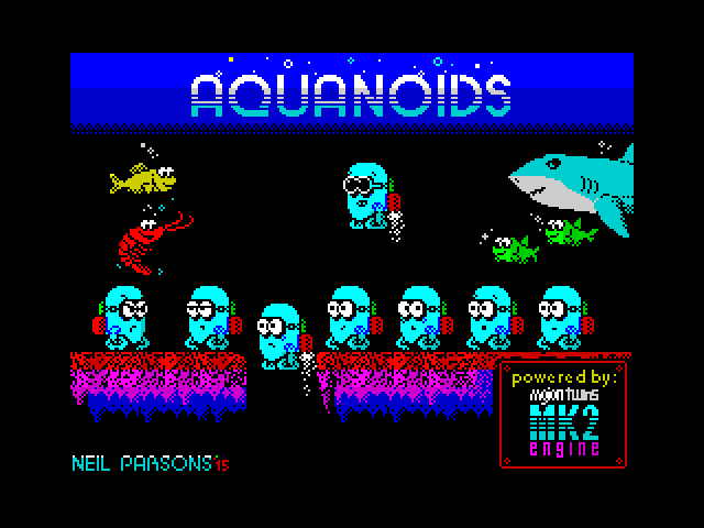Aquanoids screenshot