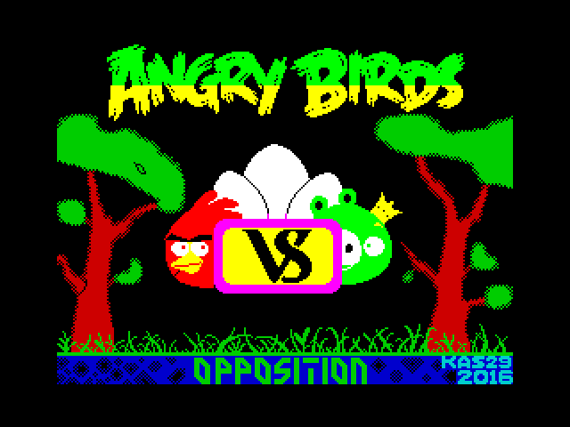 Angry Birds (Opposition) screen