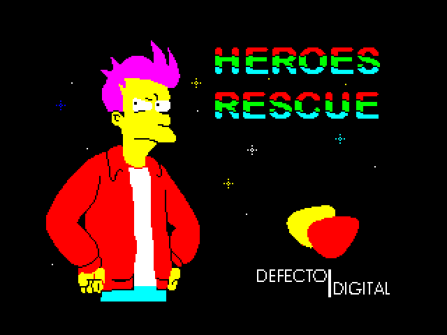 Heroes Rescue screen
