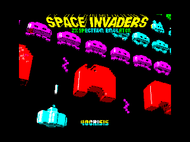 Space Invaders Emulator screenshot