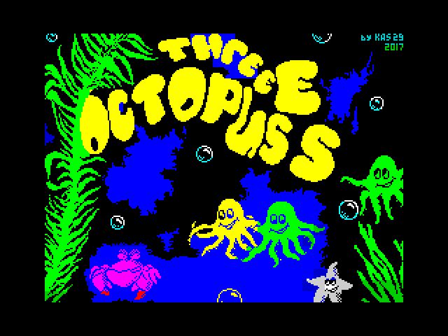 Three Octopuses screen
