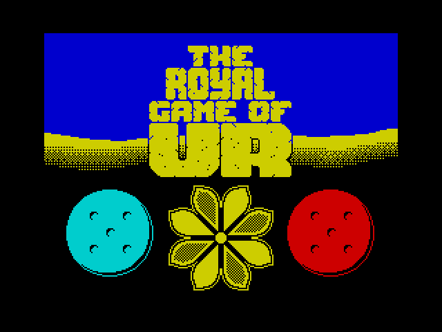 The Royal Game of UR screen