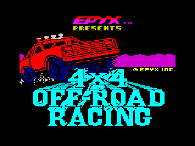4x4 Off-Road Racing screen
