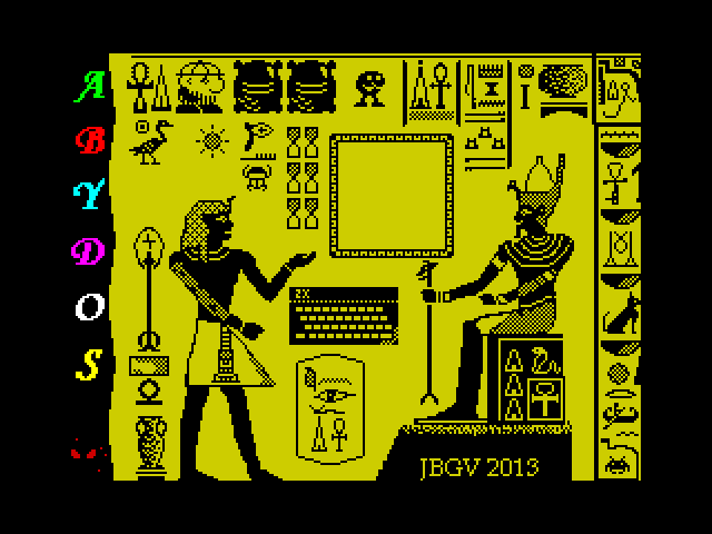 ABYDOS screen