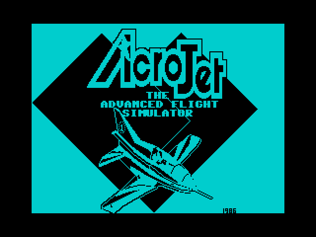 Acro Jet image, screenshot or loading screen