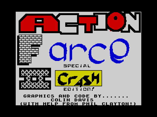 Action Farce II screen
