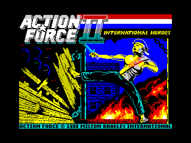 Action Force II image, screenshot or loading screen
