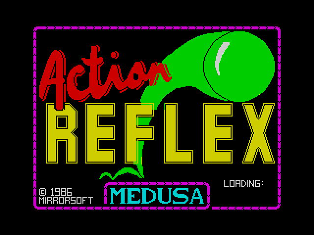 Action Reflex image, screenshot or loading screen