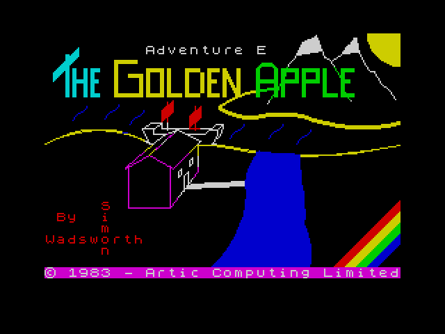 Adventure E: Golden Apple screenshot